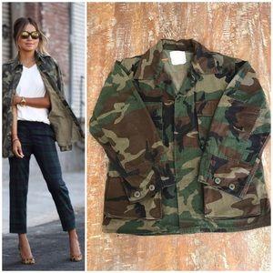 Jackets & Blazers - Camouflage print  jacket